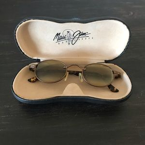 Maui Jim Tiny Bubbles Bronze Metal Sunglasses